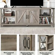 68 Tv Stand For Tv Up To 78 Inch Wood Tv Console Table With Storage Cabinets