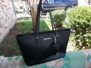 Jet Set Multifunction Travel / Work Tote With Selma Charm Fob Key