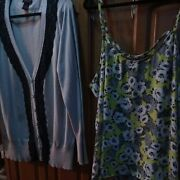 Torrid Lot Of 2. Sweater With Lace And Top. Size 4