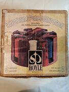 Revolving-hoyle-poker-chip-rack-caddy-with-chips-in Original Box