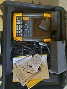 Fluke 190-204 Series Ii 4 Channel 200 Mhz Scope With 1001 Probes And Software