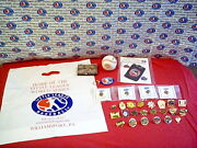Little League World Series Collectibles Collection - New - Flag, Pins, Baseball