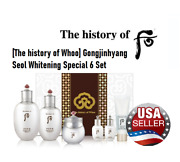 [the History Of Whoo] Gongjinhyang Seol Whitening Special 6 Set