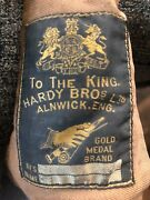Hardy Bros Fishing Rod Gold Medal Brand Vintage. 8andrsquo 1/2 Long.