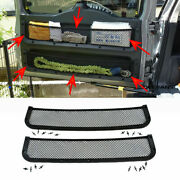 For Toyota Fj Cruiser 07-21 Rear Trunk Tail Door Toolbox Pocket Cage Storage Net