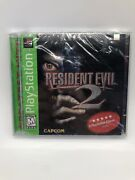 Brand New Resident Evil 2 Ps1 Factory Sealed Playstation