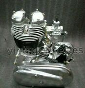 Royal Enfield Standard 350 Complete Restored Engine 4 Speed Gear And Clutch