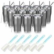 20oz Stainless Steel Insulated Tumbler Pack Bulk Travel Mug With 12 Cold Grey