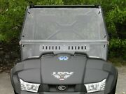 Kymco 450i Full Cab Enclosure With A Lexan Windshield And Dual Vents