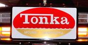 18x36 Hand Painted Tonka Mound Toys Tractor Truck Toy Farm Gas Oil Metal Sign