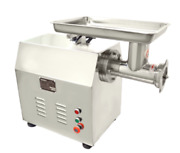 New Electric Meat Grinder 2 Hp Gear Driven Stainless 110v Uniworld Tc-32en 4543