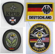 German Military Style Badges Patches Embroidered Army Airforce Special Forces