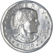 1979 P Susan B Anthony Bu Dollar Near Date Us Mint Coin See Pics H892