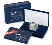 U.s. Air Force 2.5 Ounce Silver Medal S20ma - Unopened Us Mint Box In Stock