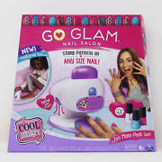 Cool Maker, Go Glam Nail Stamper Salon For Manicures And Pedicures With Dryer