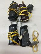 Vintage Cox Slot Car Racing Hand Held Push Button Controller Lot Of 4untested