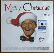 Bing Crosby Exclusive White Vinyl Lp Record Merry Christmas New Sealed+ Cd Copy