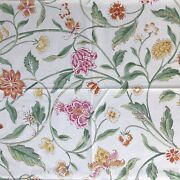 Brunschwig And Fils Indian Summer Pink Bittersweet Sample One Yard Of Fabric