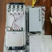 New Bitmain Antminer L3+ With Apw 3++ Power Supply Scrypt Ltc Doge 504 Mh/s