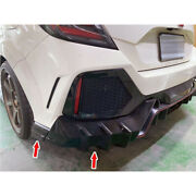 Painted Fit For Honda Civic 10th Fk8 M Type Rear Bumper Cover Protector 4pcs