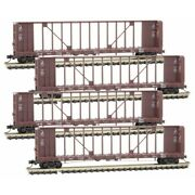 N Scale Micro Trains Union Pacific 4 Car Runner Pack Item 99300177