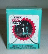 Vintage Box Of 22 Rema Tip Top Vulcanisation Tire Tube Patches