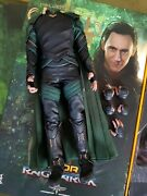 Hot Toys Ht Mms472 1/6 Loki 3.0 Action Figure Body Outfits 12in. Hands Stand New