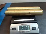 Vintage Brass Grandfather Clock Weight Set Of 2 Filled Shells