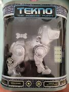 Tekno The Robotic Puppy 2000 Manley Toy Quest Brand New In Box Voice Activated