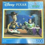 Disney Pixar 3d Visions Toy Story Game Over Puzzle 500 Pieces Read Ships Fast