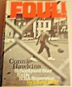Foul The Connie Hawkins Story Hardcover Autographed By Connie Hawkins