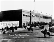 Fenway Park 1912 Large Photo 11x14 - New Stadium First Game Boston Red Sox