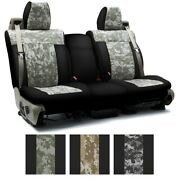 Coverking Digital Camo Custom Tailored Seat Covers For Tesla Model Y