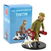 Tintin Snowy Travelling Collectible Model Toy Statues Office Home Decoration
