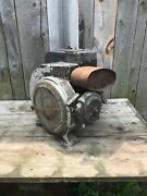 Vintage Mercury Disston Stationary Engine 1945 Military Color Kb6 Chainsaw Motor