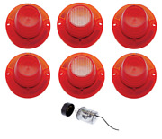 United Pacific Led Tail Light And Backup Light Set 1962 Chevy Impala Models