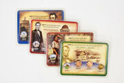 2009-p/d Gold Plated And Colorized Lincoln Bicentennial Cent Set 1c - Lot Of 4