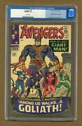 Avengers 28 Cgc 9.0 1966 0062721014 1st App. The Collector
