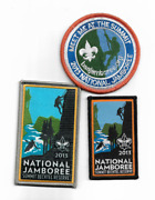 Boy Scout 2013 National Jamboree Patches All 3 Are New