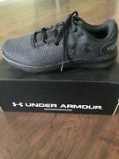 Under Armour Menand039s Charged Pursuit 2 Running Shoes 3022594-003 Black Size 7.5