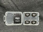 512mb Micro Sd Class 10 Memory Card With Adapter Phone/computer/tablets 4 Pcs