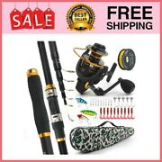 Telescopic Fishing Pole And Reel Combo3m/3.6m High-carbon Long Shot 3m