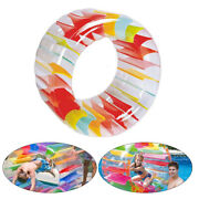 Swimming Pool Floats, Outer Dia 39in Kids Colorful Inflatable Water Wheel Roller