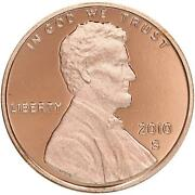2010 S Lincoln Shield Cent Gem Deep Cameo Proof Penny