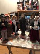 Christmas Carolers Figurines Statues Lot Byers Choice Style.lg.read Description