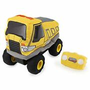 Plush Power Rc, Remote Control Dump-truck With Soft Body And 2-way Steering,