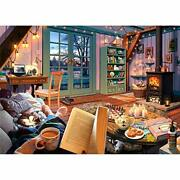 Ravensburger Cozy Retreat 500 Piece Large Format Jigsaw Puzzle For Adults -
