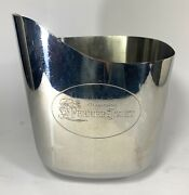 French Champagne Perrier-jouet Ice Bucket/cooler Stainless Steel Gorgeous