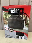 Weber 7108 Grill Cover With Storage Bag For Summit 400 Series Gas Grills Nib