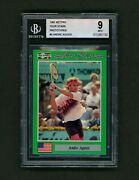 1991 Netpro Prototype Andre Agassi Rookie Bgs 9. Approx 1500 Made. Low Psa Pop